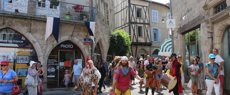 Les Médiévales de Saint-Léonard, un événement incontournable à vivre fin août